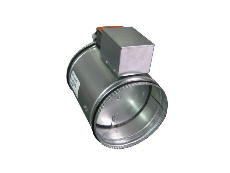 Клапан КПС-1м(90)-НО-МВ(220)-200*200